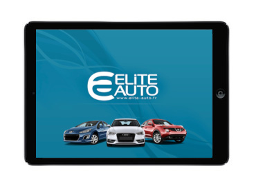Application iPad Elite Auto